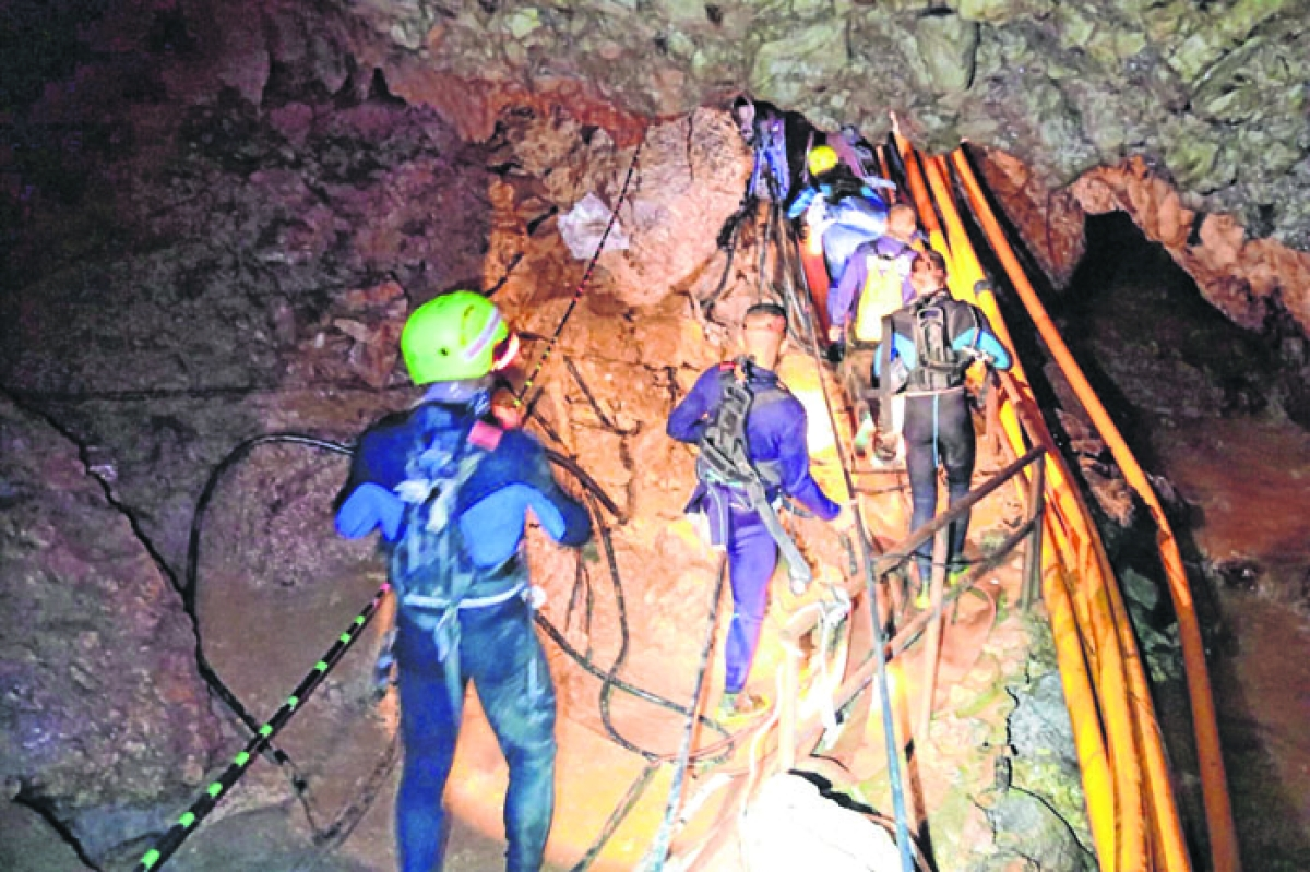 Two movies on 'Thai cave rescue' in the works