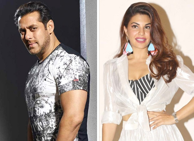 What were Salman Khan and Jacqueline Fernandez doing together in Dubai?