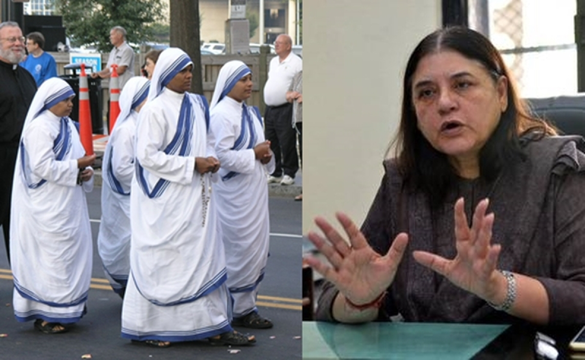 Baby trafficking: Inspect all child-care homes run by Missionaries of Charity immediately, says Maneka Gandhi