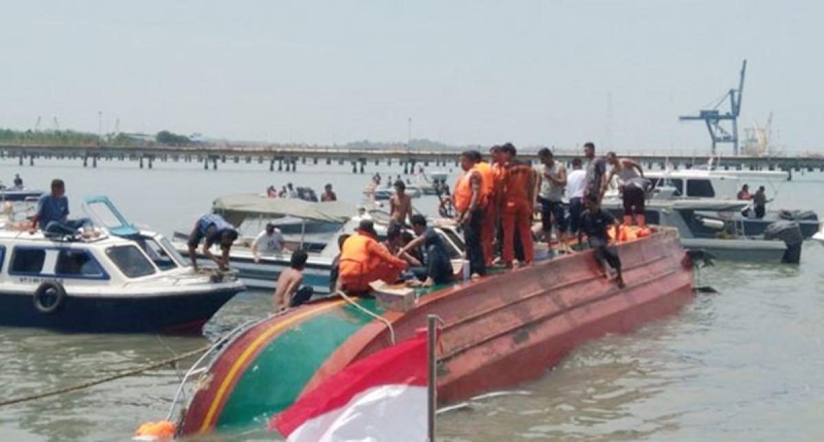 34 killed in Indonesia boat capsized