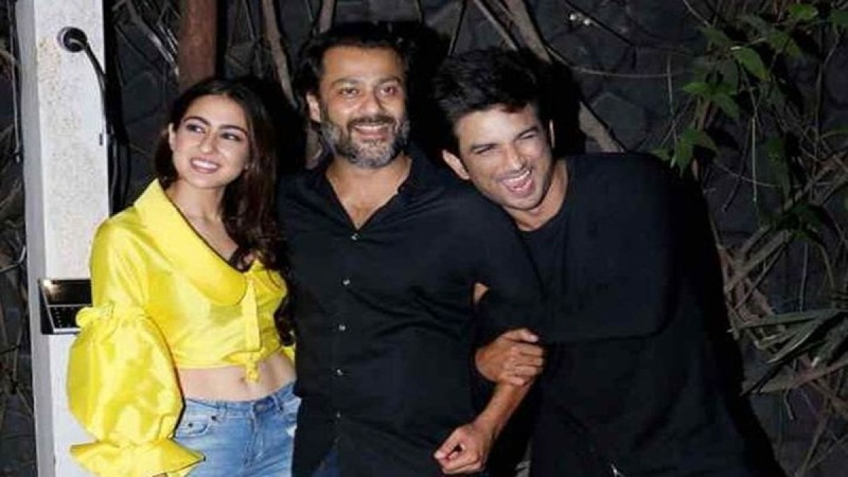 In Pics: Sushant Singh Rajput and Sara Ali Khan attend 'Kedarnath' wrap up party