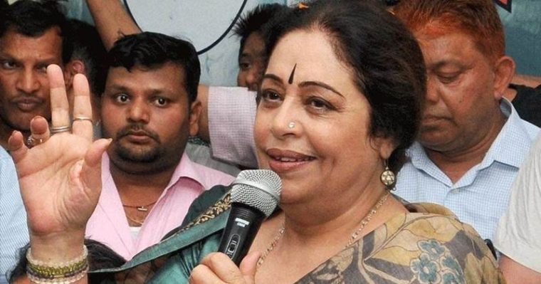 Kirron Kher faces fight from Congress and within BJP