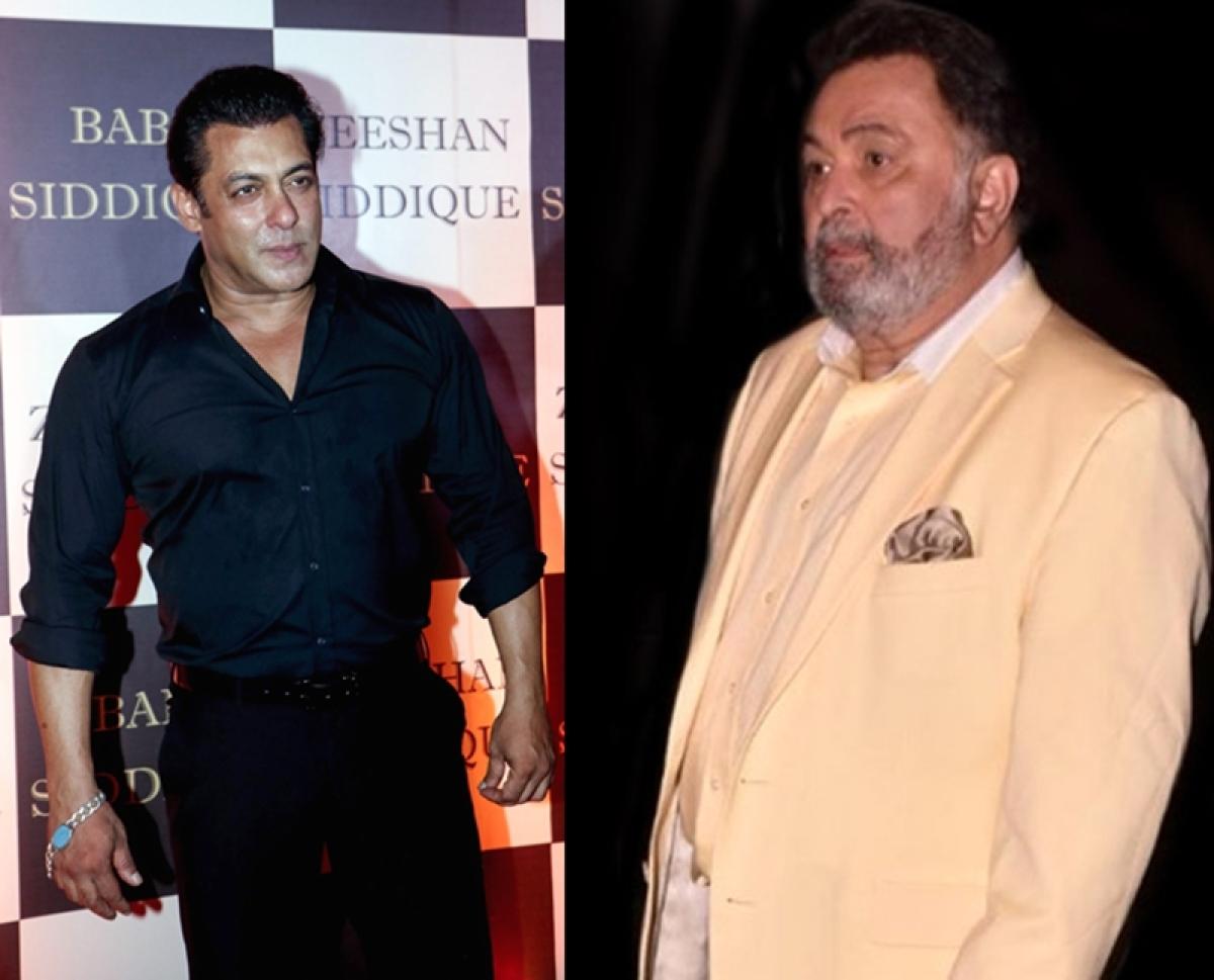 Salman Khan-Rishi Kapoor conflict; this time the reason is not Ranbir Kapoor