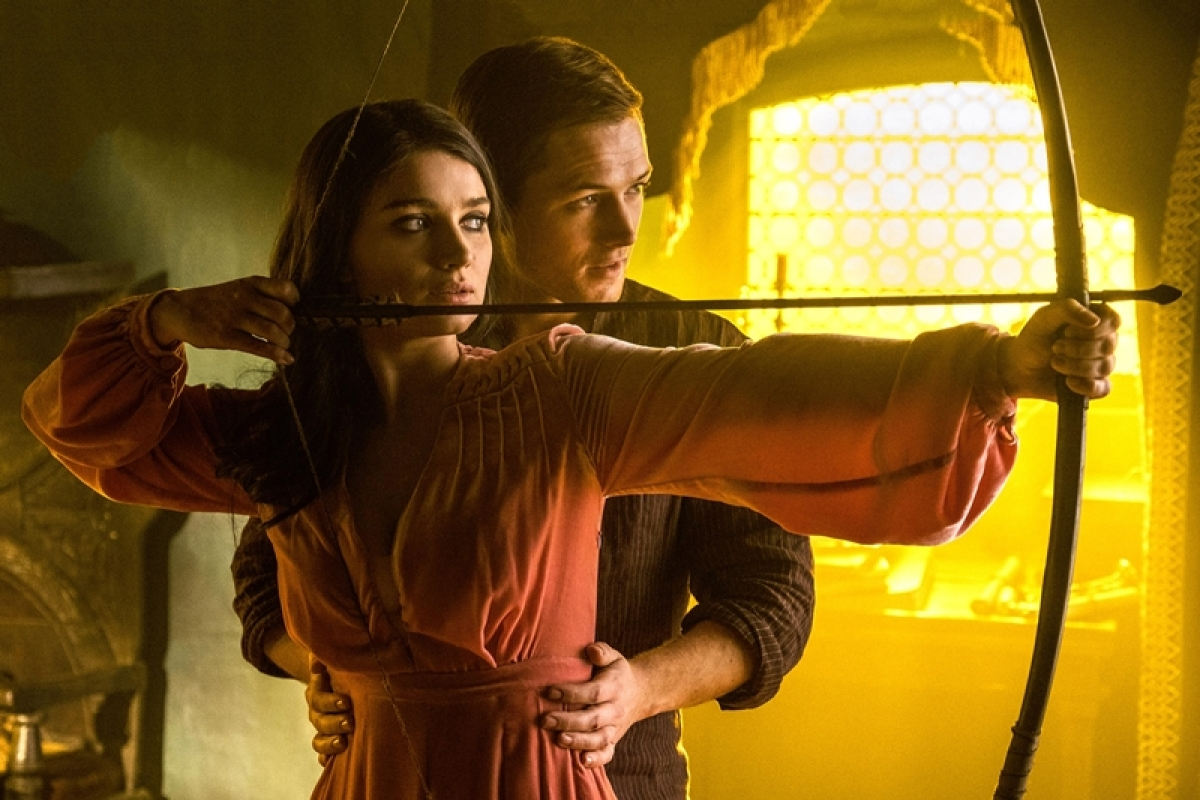 Taron Egerton's movie trailer of 'Robin Hood' is out