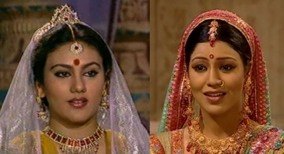 Sita meets Sita! Debina Bonnerjee shares a 'time-travel' photo with original Ramayan's Sita Deepika Topiwala