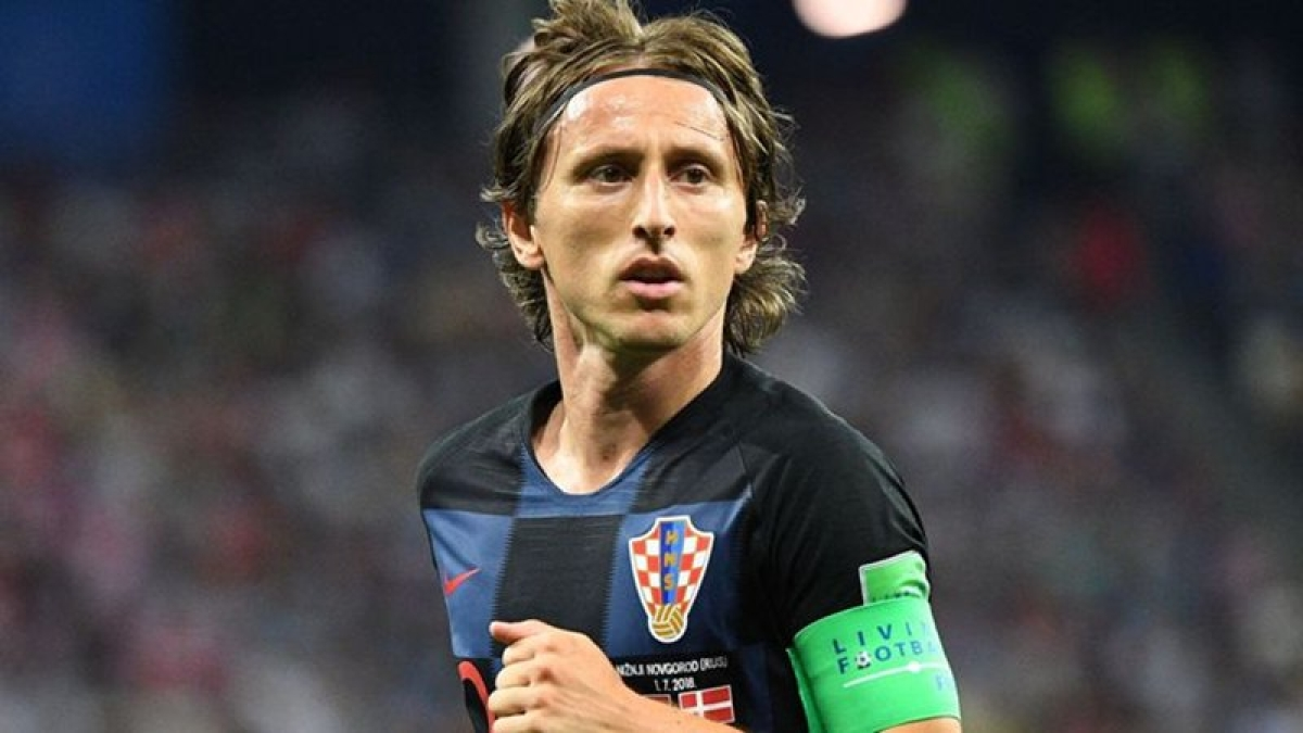FIFA football awards: Luka Modric named best male player