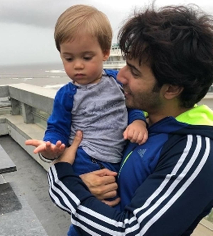 Varun Dhawan twinning with Karan Johar's son Yash is too cute for words; see pic