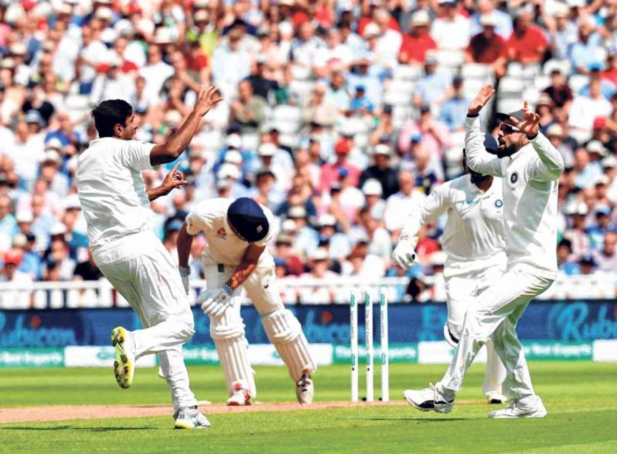 Ashwin spins it India's way