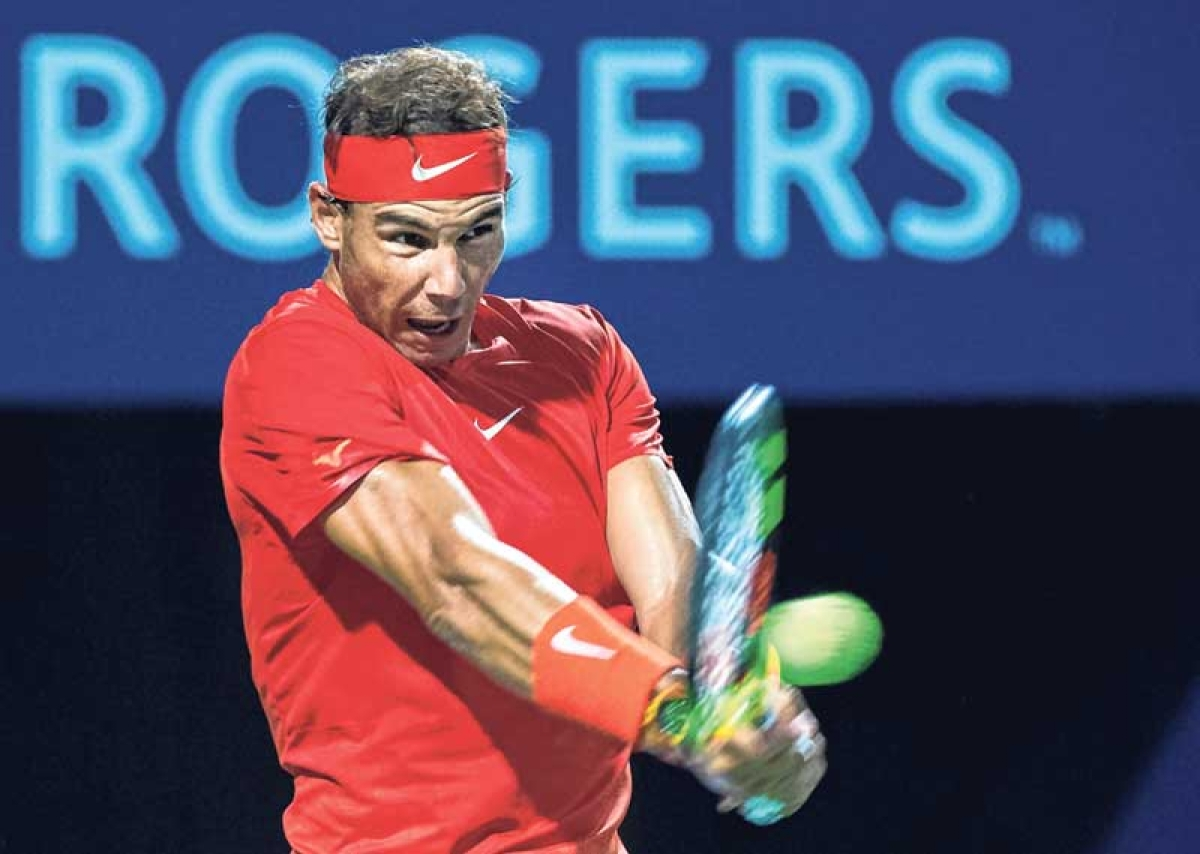 Nadal reaches Toronto quarters, Djoko stunned
