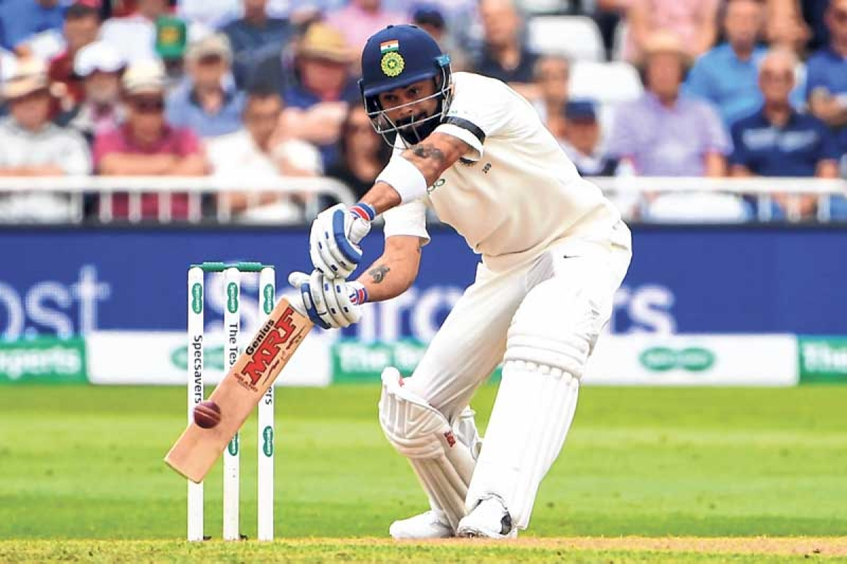Kohli, Rahane make it India's day at Nottingham