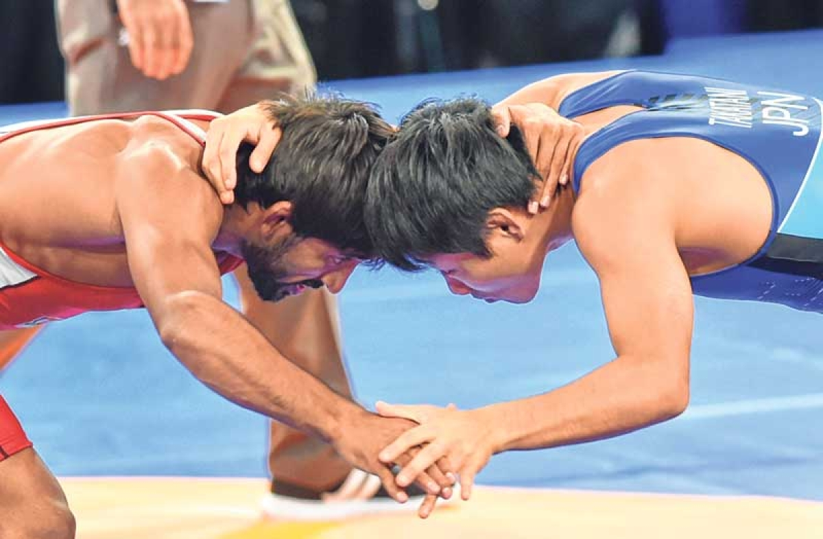 Bajrang's golden show at Asiad
