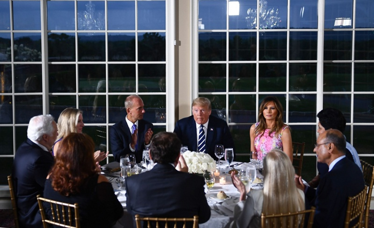 Donald Trump hosts Indra Nooyi, Ajay Banga among top corporate leaders for dinner at private golf course