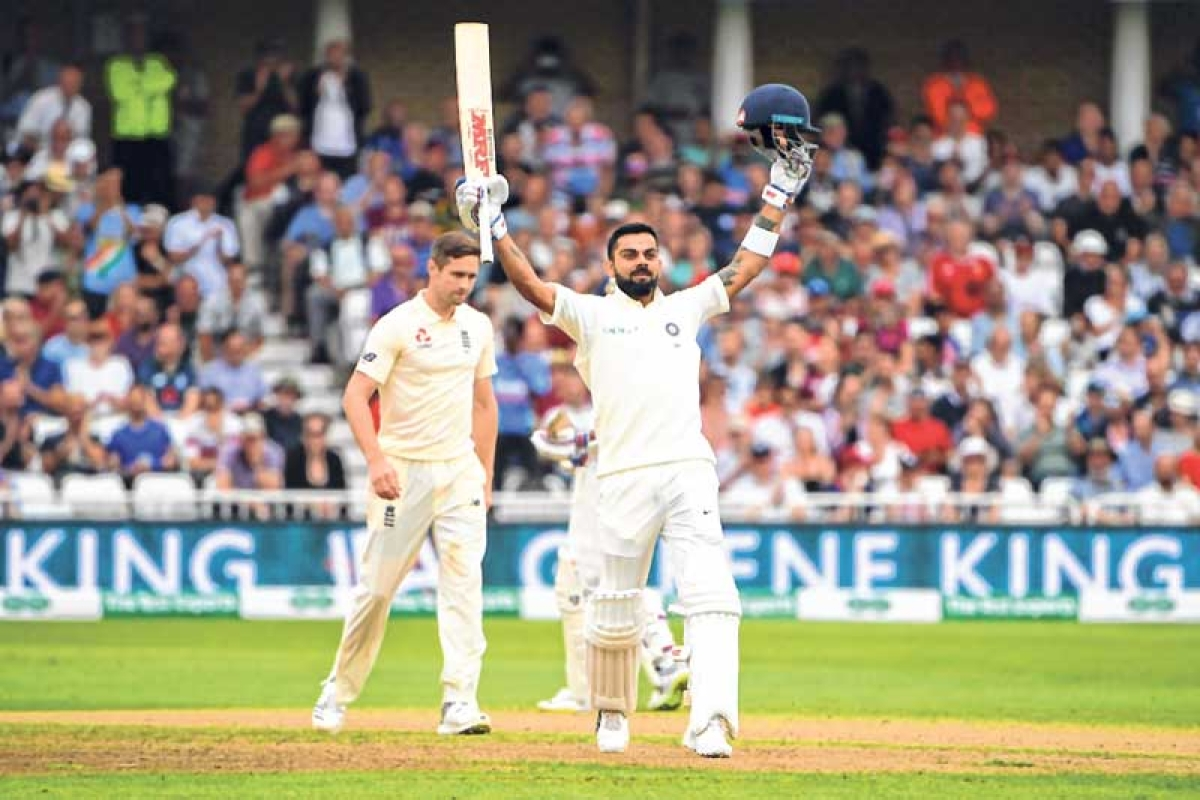 India vs England 3rd Test: Virat Kohli ton puts India in driver's seat; set England 521 target
