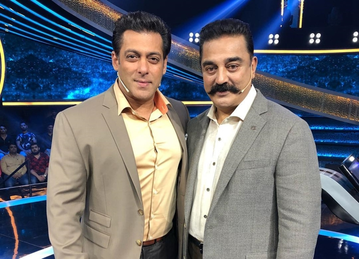 Kamal Haasan responsible for Salman Khan's shirt being tucked in?