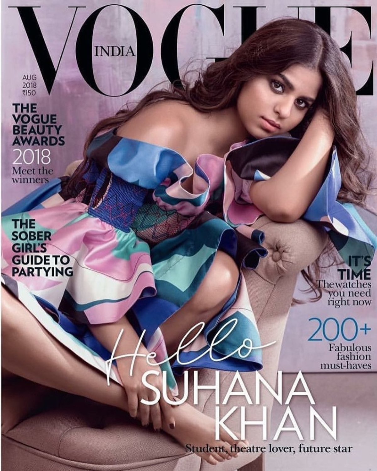 Karan Johar welcomes Suhana Khan to the spotlight as sizzles on her first ever magazine cover