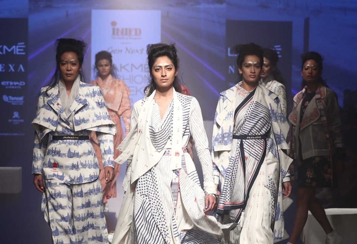 Gen Next gives eclectic start to Lakme Fashion Week Winter/Festive 2018 on Day 1