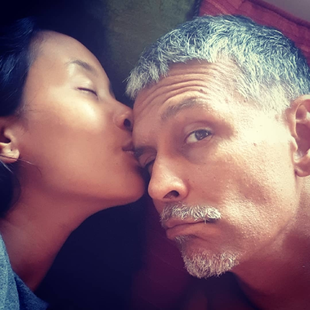 Kiss of LOVE! Milind Soman's heartfelt birthday wish for wife Ankita Konwar is too cute for words; See pic