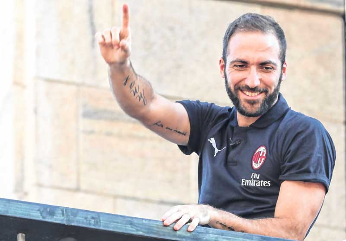 Gonzalo Higuain reveals why he opted for AC Milan over Chelsea