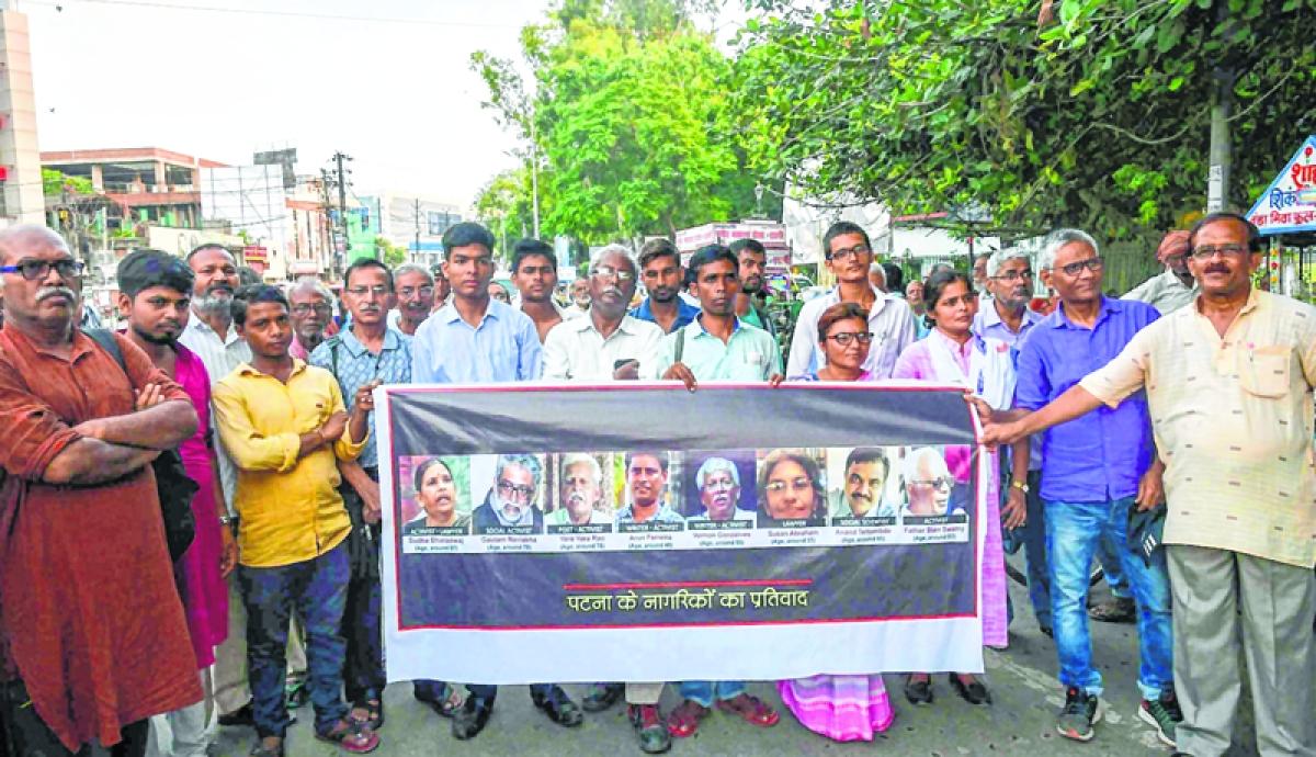 Activists' arrest: SOP not followed, says NHRC