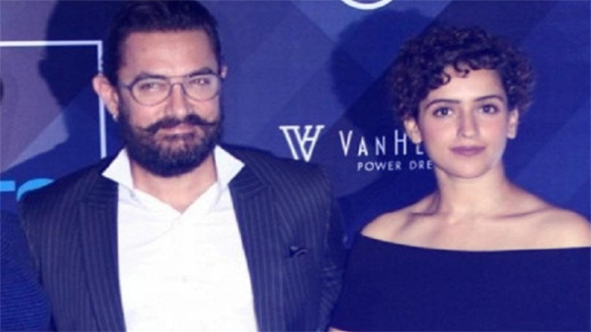 Aamir Khan sends good wishes to Dangal co-star Sanya Malhotra for 'Pataakha'