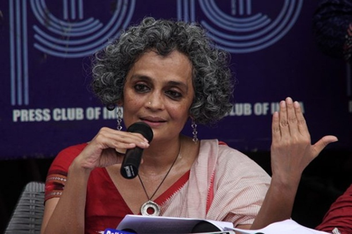 Bhima-Koregaon violence: BJP will try to derail everything with some surprise attack, says Arundhati Roy