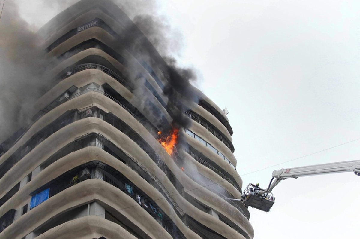 Mumbai fire: BMC did not give an OC to builder of Crystal Tower, perfect example of redevelopment mess