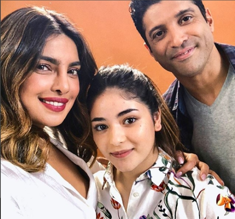 'Excited and Happy' Priyanka Chopra begins shooting for 'The Sky Is Pink' with Farhan Akhtar, Zaira Wasim