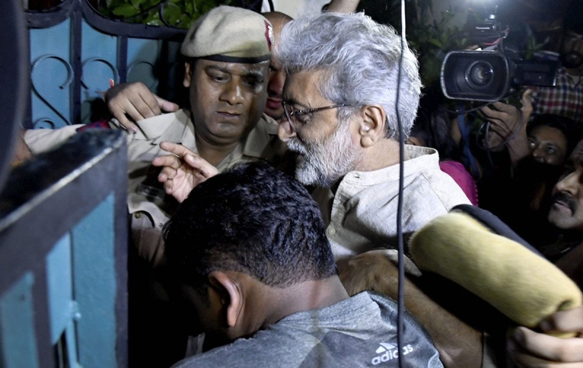 Bhima-Koregaon case: SC issues notice to Gautam Navlakha on Maharashtra govt's plea