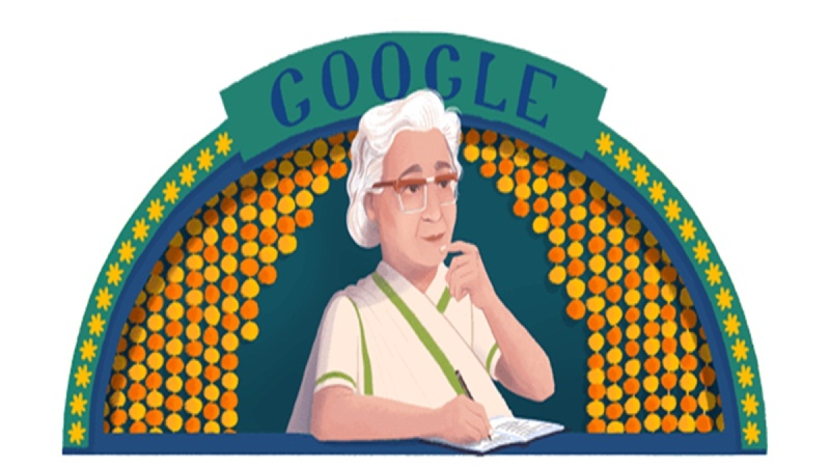 Google Doodle marks Indian author Ismat Chughtai's 107th birthday