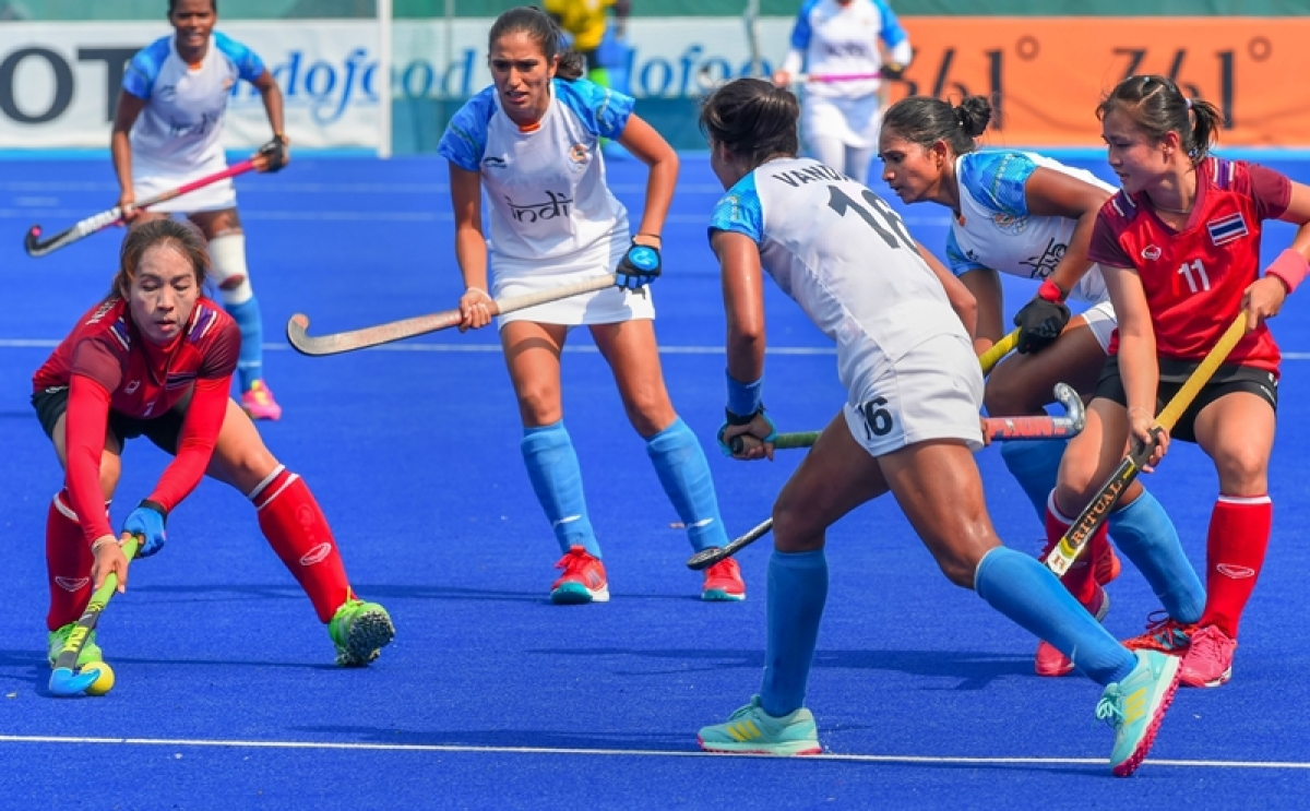 Asian Games 2018: Captain Rani scores hat-trick as India thrash Thailand to qualify for semis in women's hockey
