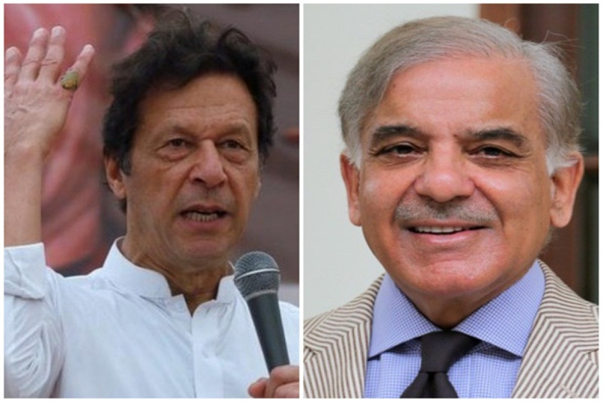 Imran Khan, Shehbaz Sharif file nomination papers for Pakistan Prime Minister poll