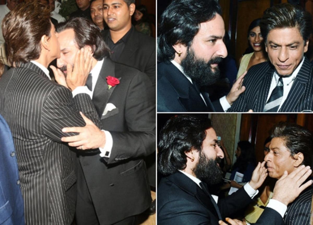 Kantaben Uncut! Shah Rukh Khan- Saif Ali Khan recreate iconic scene from 'Kal Ho Naa Ho'