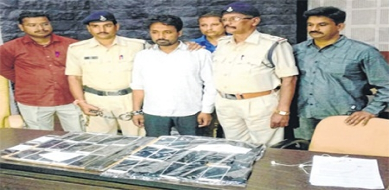 Indore: Prime accused of mobile phone snatching gang