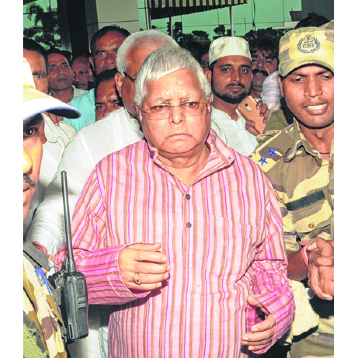 Jail rules relaxed for Lalu meetings