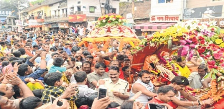 Ujjain: Fifth procession of Lord Mahakal taken out