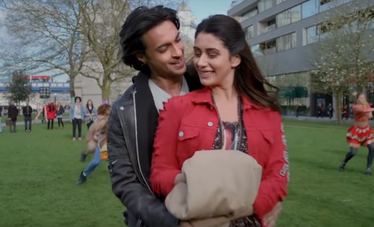 Loveratri Chogada song: Aayush Sharma and Warina Hussain groove on cool garba track