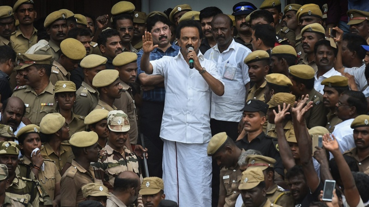 DMK to hold protest on Sep 20 against Union Home Minister Amit Shah's views on imposing Hindi