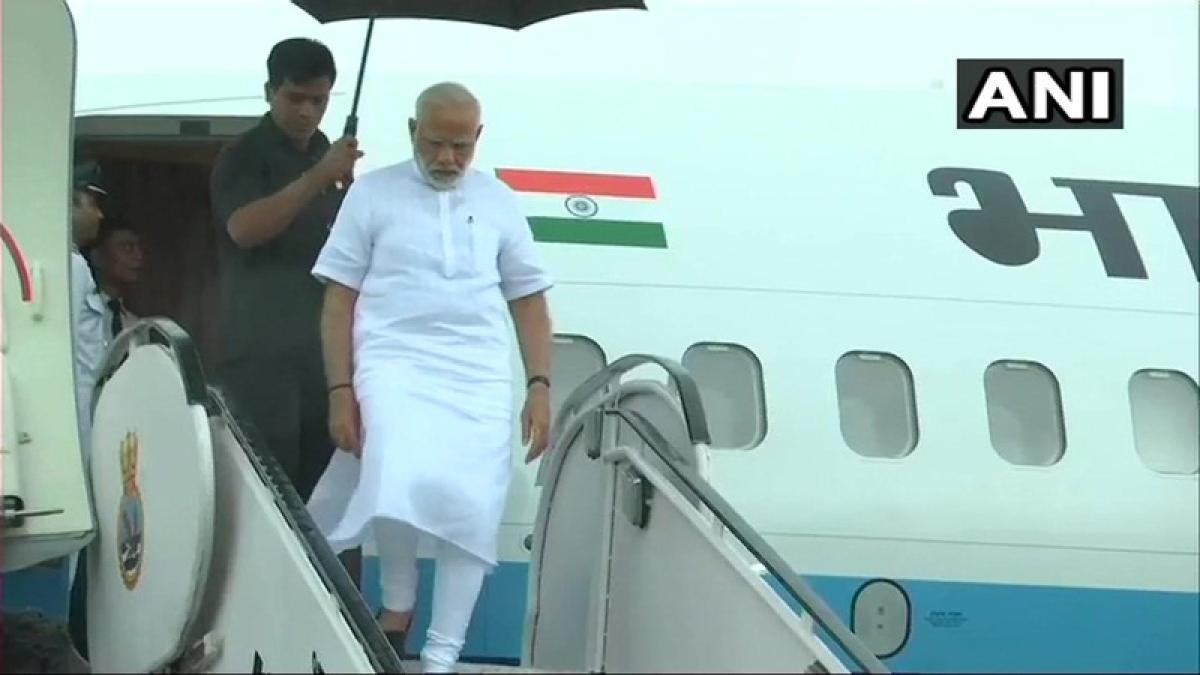Kerala Rains: PM Narendra Modi arrives in Kerala to review flood situation