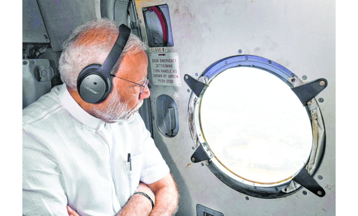 PM GIVES ANOTHER 500 CR TO FLOOD-affected KERALA