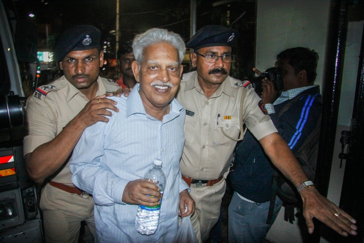Elgar Parishad case: Poet Varavara Rao admitted in Mumbai's JJ hospital