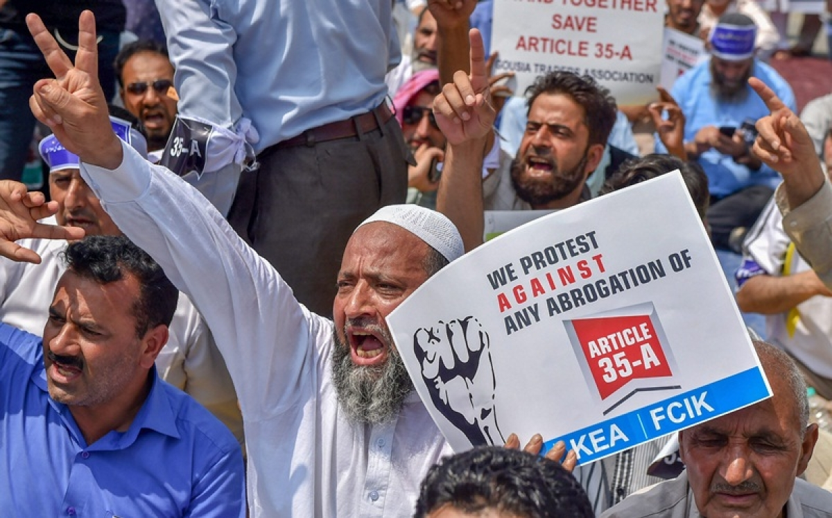 Article 35-A: Separatist shutdown affects life in Kashmir Valley