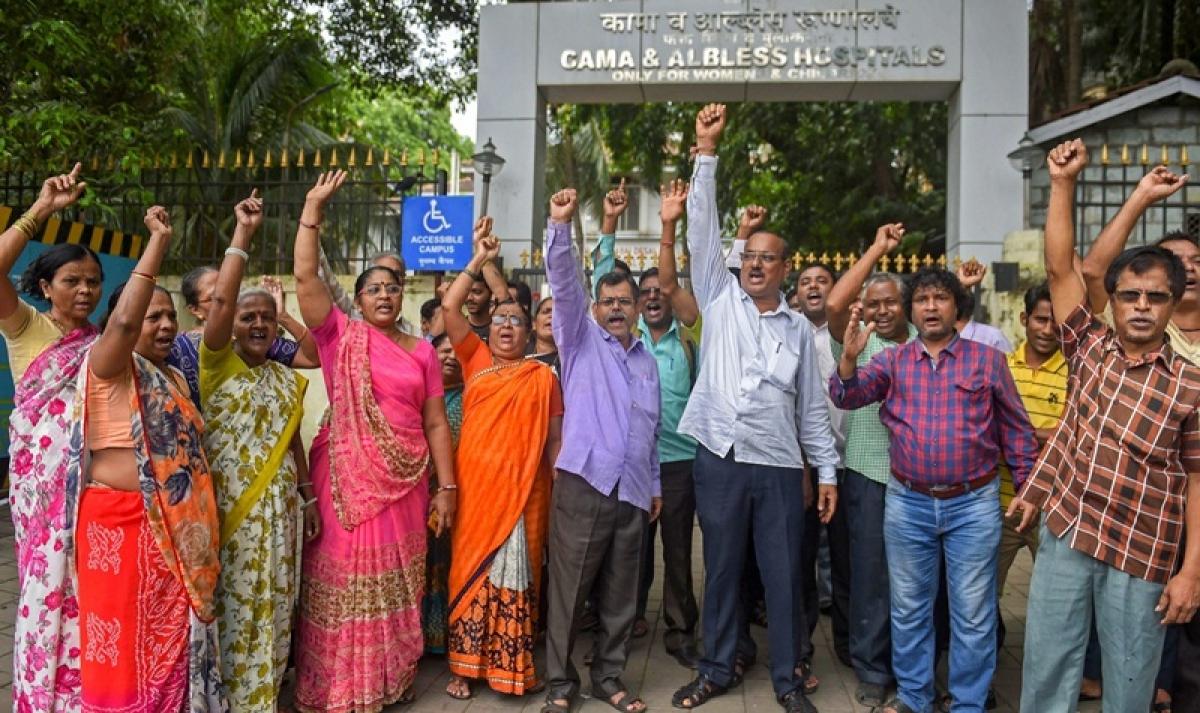 Maharashtra govt employees strike: Hospitals cancel routine surgeries as medical, nursing students join strike