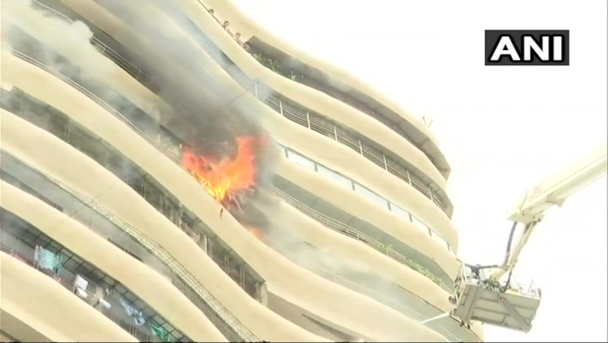 Mumbai: 4 dead, 16 injured as fire engulfs Parel's Crystal Tower