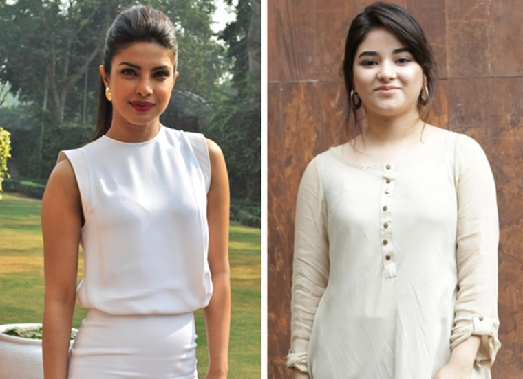 Priyanka Chopra not good enough to play Zaira Wasim's mother in 'The Sky is Pink'?
