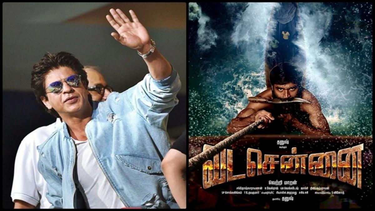 Shah Rukh Khan impressed with Dhanush's Vada Chennai teaser, praises him on Twitter