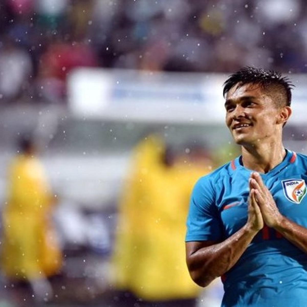 It is never about me, says Sunil Chhetri