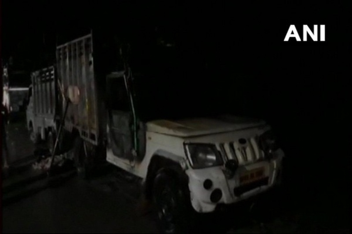 Uttar Pradesh: Vehicle carrying animal remains sacrificed during Eid al-Adha set on fire