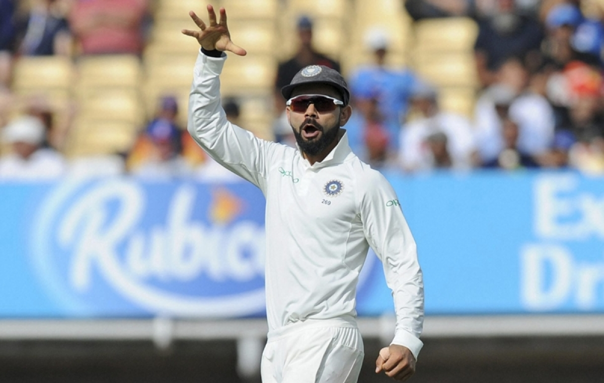 It adds 'humour' to Test series: England captain Joe Root on Kohli's 'mic drop' action