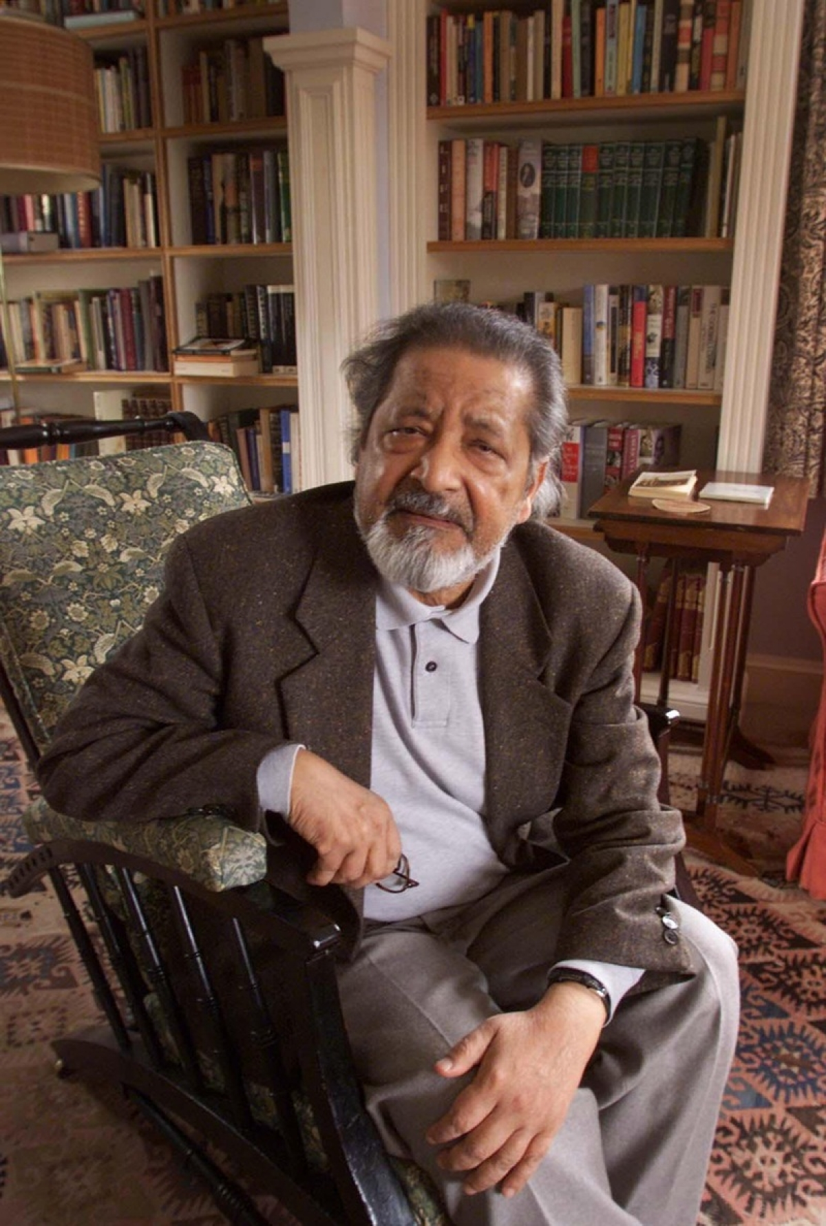 From absurdist to absurd: The spurious case of VS Naipaul