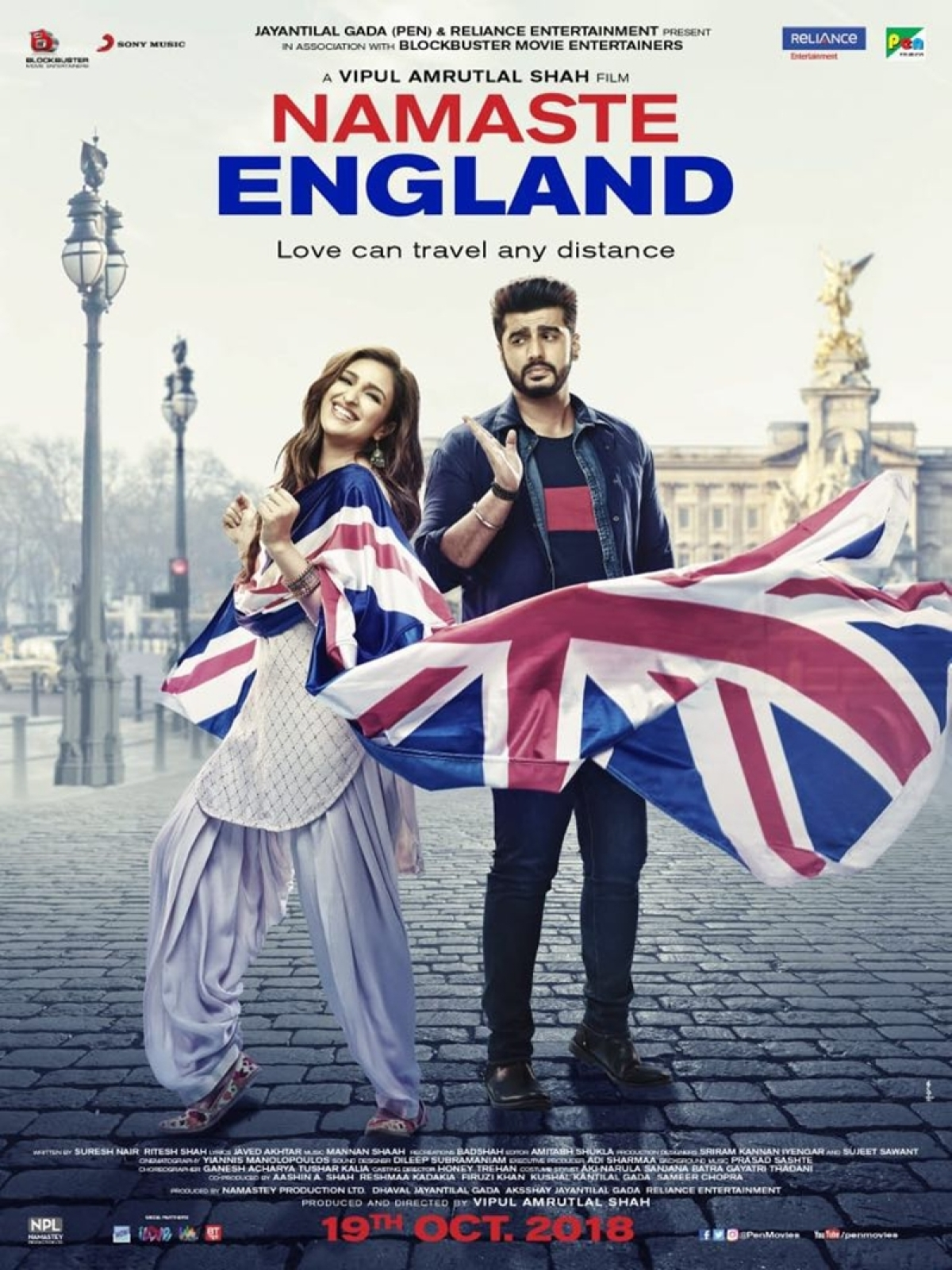 'Namaste England' posters: Arjun Kapoor and Parineeti Chopra prove distance is no bar in love